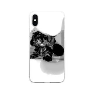 おうち帰ろう Soft clear smartphone cases