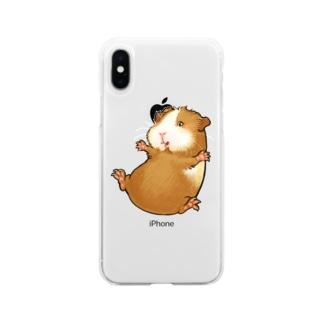 モルモット POTATO!! Soft clear smartphone cases