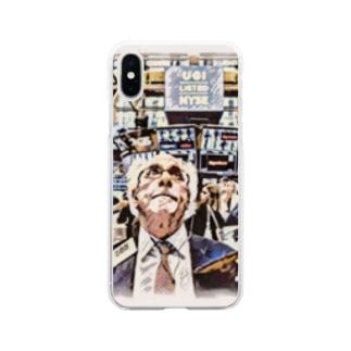 588おじさんグッズ Soft clear smartphone cases