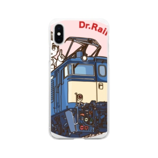 鉄道博士 EF63 Soft clear smartphone cases