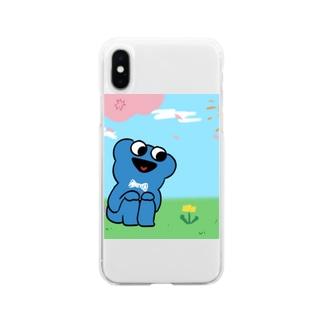 たんぽぽとぼく Soft clear smartphone cases