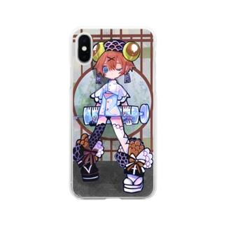 ❤鯉ナース❤ Soft clear smartphone cases