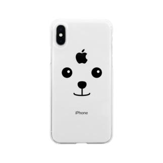 うるうるわんこ Soft Clear Smartphone Case