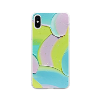やわらかな想い Soft clear smartphone cases