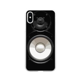 モニタースピーカー Soft clear smartphone cases