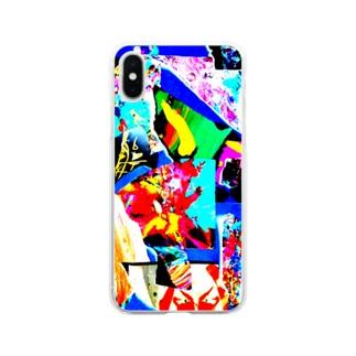青が導き出した答え Soft clear smartphone cases