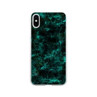Dark road Soft Clear Smartphone Case