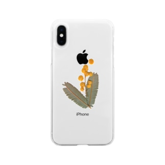 mimosa⚫︎実り Soft clear smartphone cases