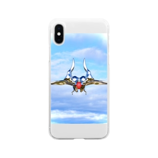 kairi nagashimaの飛行物体 Soft Clear Smartphone Case