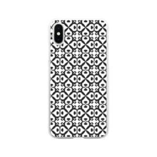 ヘ音記号フラワー Soft clear smartphone cases