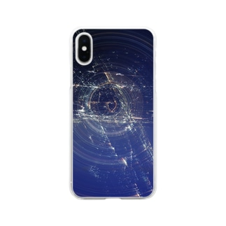 ハートの小宇宙 Soft clear smartphone cases