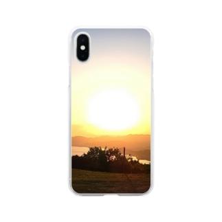 サンシェード Soft clear smartphone cases