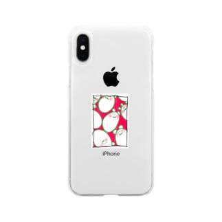 たまごん(アナログver) Soft clear smartphone cases