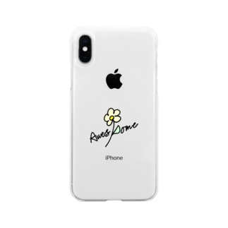 Awesome flower Soft clear smartphone cases