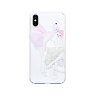 バレリーナー ブラン Soft clear smartphone cases