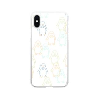 ペンちゃんず(pt2) Soft clear smartphone cases