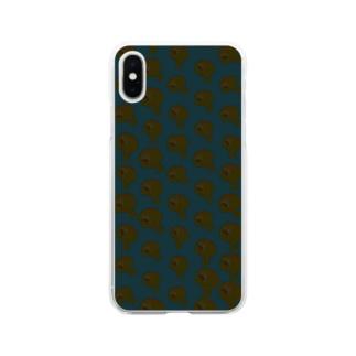 ぞんびのうずいさん Soft clear smartphone cases