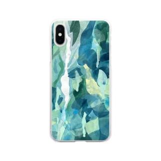 抽象画34 Soft clear smartphone cases