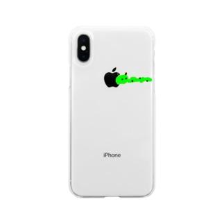 ありがとアリくん Soft clear smartphone cases