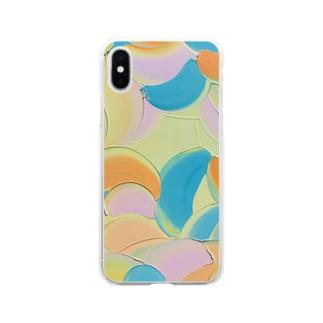 Mandarins summer  Soft clear smartphone cases