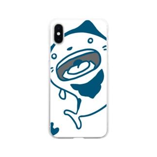 ネコベエ Soft clear smartphone cases