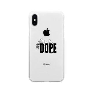 DOPEオリジナル!! Soft clear smartphone cases