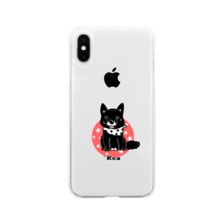 れあ Soft clear smartphone cases