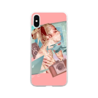 Girl & Money Soft Clear Smartphone Case