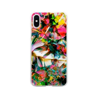音楽彩画No.1095 Soft clear smartphone cases