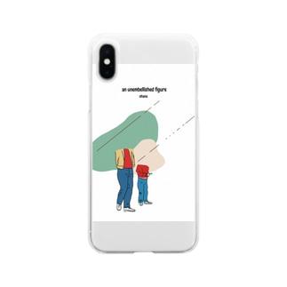 あるがままに Soft clear smartphone cases