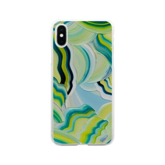 Grass wind Soft clear smartphone cases