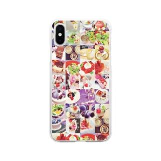 じょーのごちそう Soft clear smartphone cases