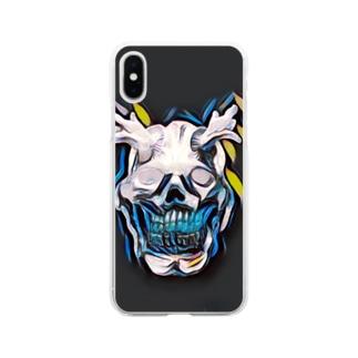 オーガ/emotion ケース Soft clear smartphone cases