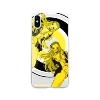 YOU PERV 006 レトロポップ 学園 クラッシュレモンゼリースカッシュ Soft clear smartphone cases