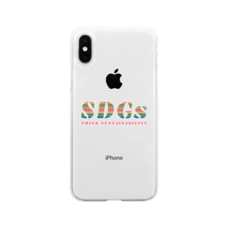 SDGs - think sustainability Soft clear smartphone cases