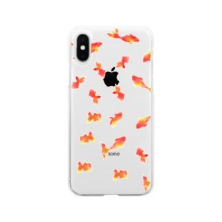 ミニ金魚 Soft Clear Smartphone Case