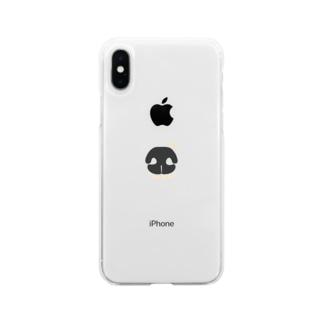 パナ Soft clear smartphone cases