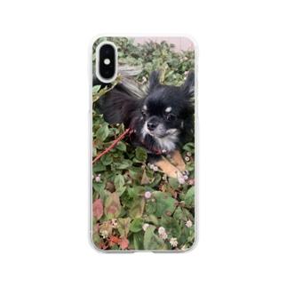 コロン3 Soft clear smartphone cases