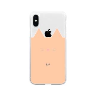 ネコスマホ Soft clear smartphone cases