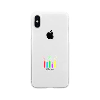 いろえんぴつ Soft Clear Smartphone Case