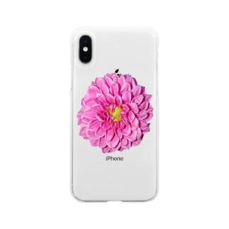 Dahlia Soft clear smartphone cases