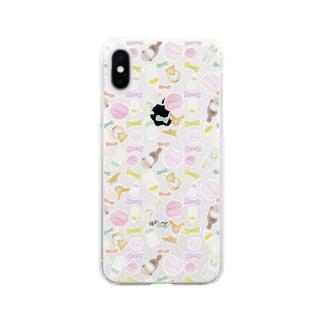 パーフェクトジーニアスベイビーズ スマホケース Soft clear smartphone cases