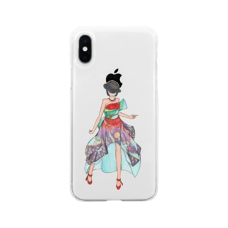 Ericaさま Soft clear smartphone cases