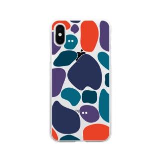 いっぱい(ツバメ) Soft clear smartphone cases