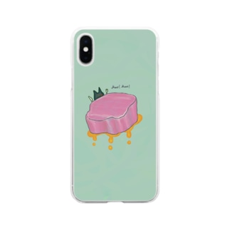 Meat! Meat! Soft Clear Smartphone Case