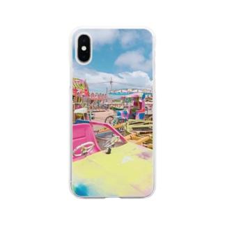 現実逃避 Soft clear smartphone cases