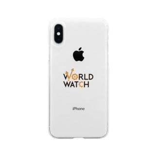 WORLD WATCH Soft clear smartphone cases