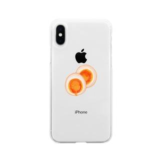 あじつけたまご Soft Clear Smartphone Case