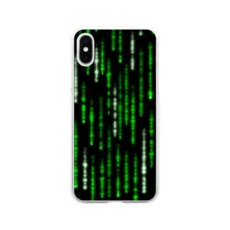 Digital Rain phone case Green ver.1.1.0 Soft clear smartphone cases