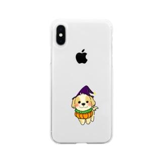 マルプーちゃん ハロウィーンスタイル! Soft Clear Smartphone Case